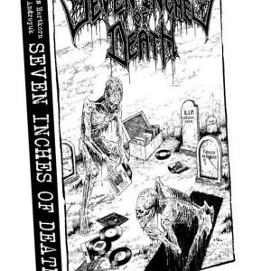 Seven Inches Of Death: 5 Years Of Cult Death Metal – Eps 1989-1993 Book Books
