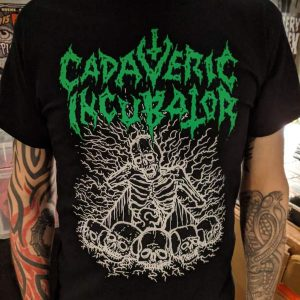 Cadaveric Incubator – Skeletorso T-shirt T-shirts