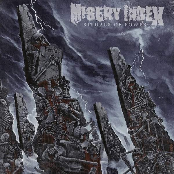 "MISERY INDEX – Rituals of Power LP 12"" Vinyl Records"