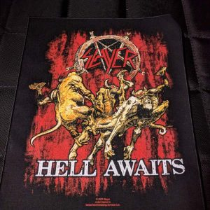 Slayer – Hell Awaits Back Patch Back Patches