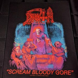 Death – Scream Bloody Gore Back Patch Back Patches