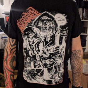 Hooded Menace – Deadicated To Doom T-shirt T-shirts