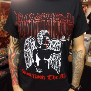 Blasphemy – Blood Upon The Altar T-shirt T-shirts