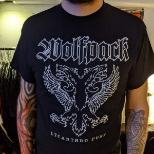 Wolfpack – Lycanthro Punk T-shirt T-shirts
