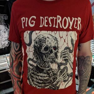 Pig Destroyer – Snake Eater T-shirt T-shirts