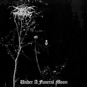"DARKTHRONE – Under a Funeral Moon LP 12"" Vinyl Records"