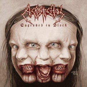 "Acrostichon – Engraved In Black Gatefold 12″ vinyl 12"" Vinyl Records"