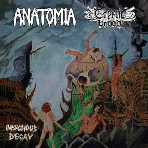 """Anatomia / Cryptic Brood 7″ vinyl 7"""" Vinyl Records"""