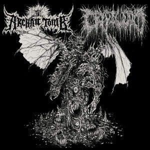 "Archaic Tomb / Cryptworm – Persecution Paraphrenalia / Putrefactive Regurgitation 7″ vinyl 7"" Vinyl Records"