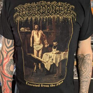 Hyperdontia – Excreted From The Flesh T-shirt T-shirts