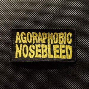 Agoraphobic Nosebleed – Logo Patch Patches