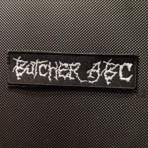 Butcher Abc – Logo Patch Patches