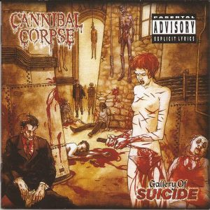 Cannibal Corpse – Gallery Of Suicide CD (Used) Used CDs