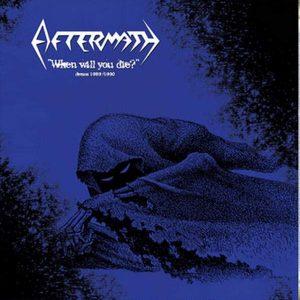 """Aftermath – When Will You Die Demos 89-90 12″ vinyl 12"""" Vinyl Records"""
