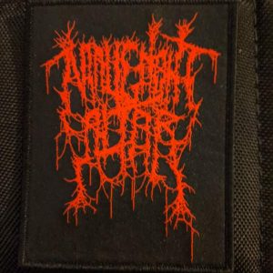 Malignant Altar – Red Logo Patch Label Releases