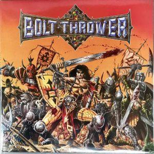 "BOLT THROWER – Warmaster LP 12"" Vinyl Records"