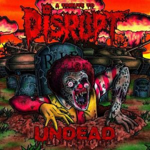 Various Artists: Undead – A Tribute To Disrupt CD CDs
