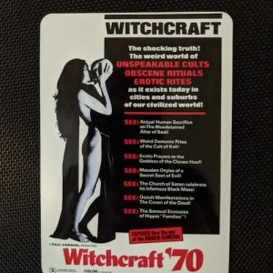 Witchcraft '70 Magnet Magnets