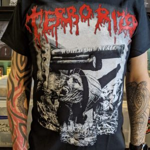 TERRORIZER – World Downfall T-shirt T-shirts